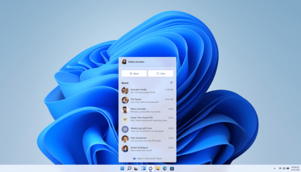 What's New in Microsoft's System?- Microsoft Teams natively integrated with Windows