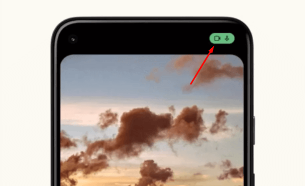 Android 12: All about Google s new system - Notification of microphone and camera usage