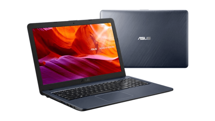 The best cheap notebooks to work and study in 2021- Asus VivoBook X543UA